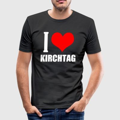 Kirchtag - Herre Slim Fit T-Shirt