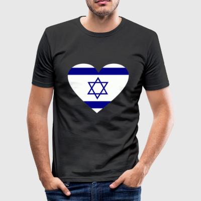 2541614 14.657.100 irsrael - Herre Slim Fit T-Shirt