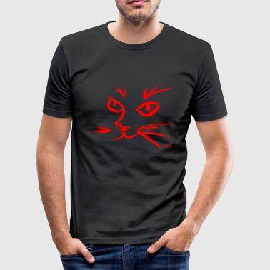 RED CAT - Herre Slim Fit T-Shirt