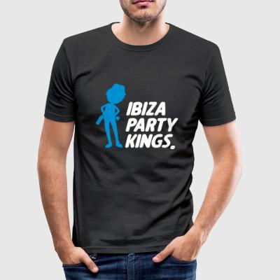 Ibiza part Kings - Slim Fit T-shirt herr
