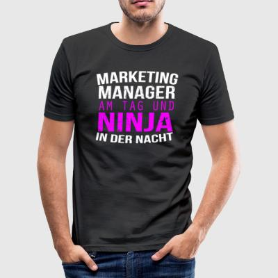 Marketing - Männer Slim Fit T-Shirt