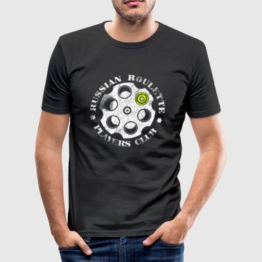 Russian Roulette Players Club - Slim Fit T-shirt herr
