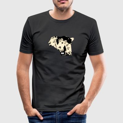 Rudimouflage - Tee shirt près du corps Homme