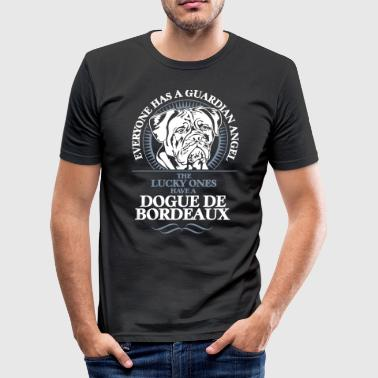 GUARDIAN ANGEL DOGUE DE BORDEAUX - Men's Slim Fit T-Shirt