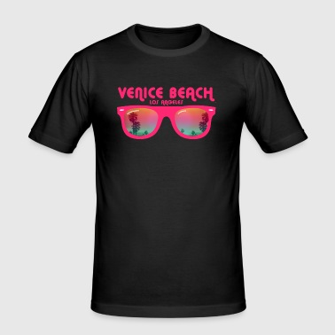 Venice Beach Los Angeles - slim fit T-shirt