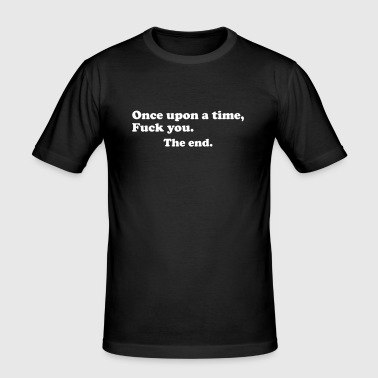 once upon a time - T-shirt près du corps Homme
