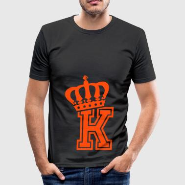 Letter K - Men's Slim Fit T-Shirt
