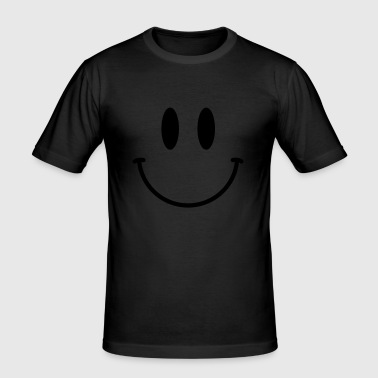 Smiley_V17 - Men's Slim Fit T-Shirt