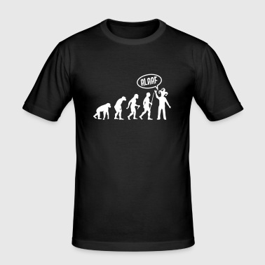 Evolution Karneval - Alaaf - Slim Fit T-skjorte for menn
