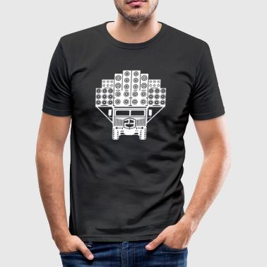 Sound truck 23 - Men's Slim Fit T-Shirt