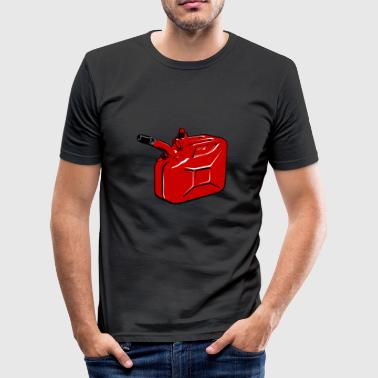 Gas Can - Herre Slim Fit T-Shirt