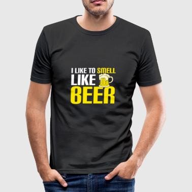 Øl Alkohol gave jul drikke øl cer - Herre Slim Fit T-Shirt