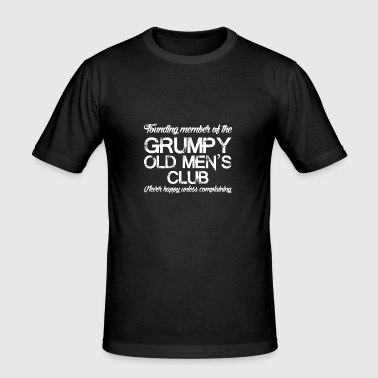 Grim oude mannen - slim fit T-shirt