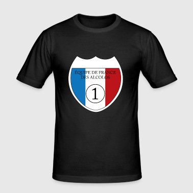 Equipe de France des Alcolos - Men's Slim Fit T-Shirt
