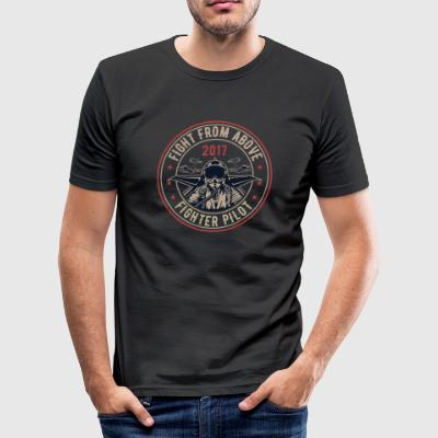 Death From Above - Männer Slim Fit T-Shirt