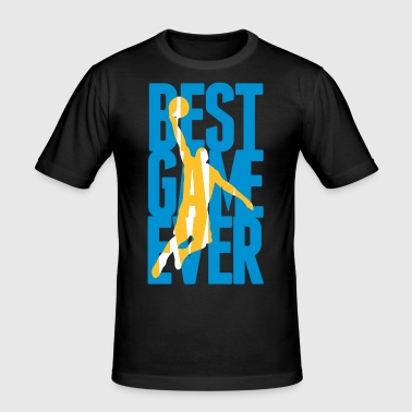 Best Game ever - Basketball - Herre Slim Fit T-Shirt