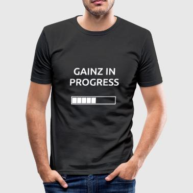 Gainz WonB - Men's Slim Fit T-Shirt