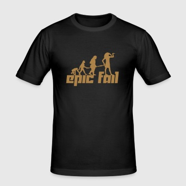 Epic Fail (Vector) - Men's Slim Fit T-Shirt