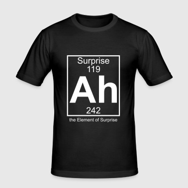 Ah - the Element of Surprise - Männer Slim Fit T-Shirt
