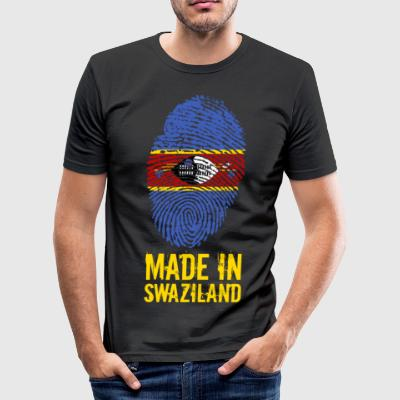Made In Swaziland / Swaziland / Eswatini - Slim Fit T-skjorte for menn