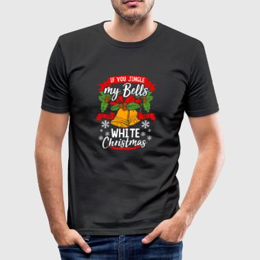 Jingle Bells - gift White Christmas - slim fit T-shirt