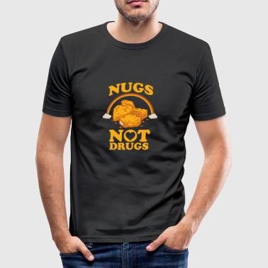 Antidrug chicken nuggets / Gift - slim fit T-shirt