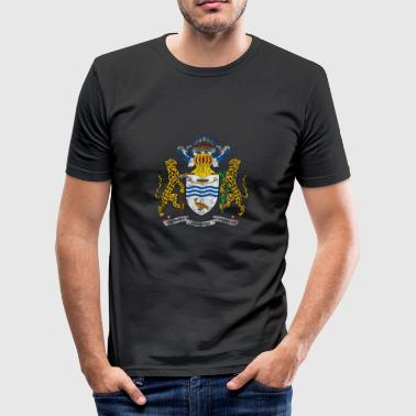 Wapenschild van Guyana Symbool Guyanese - slim fit T-shirt