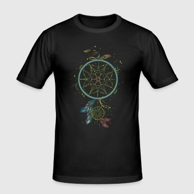 Dreamcatcher - Traumfänger - Männer Slim Fit T-Shirt