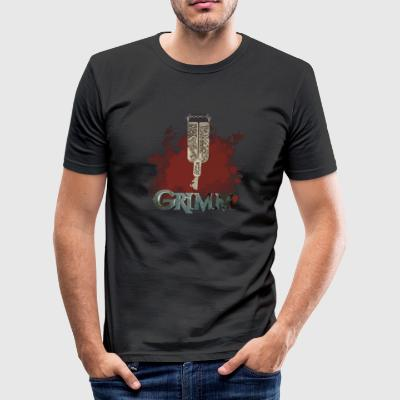 Grimm key - Men's Slim Fit T-Shirt