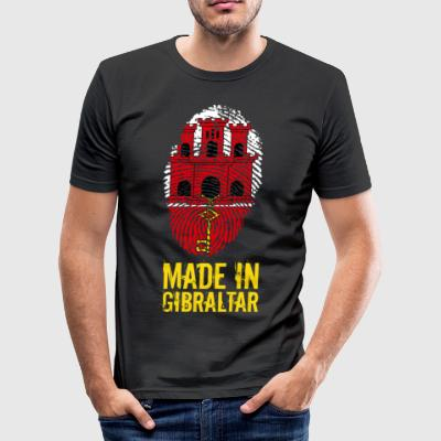 Made In Gibraltar - Tee shirt près du corps Homme
