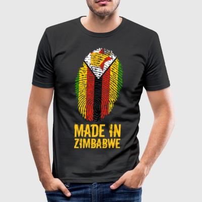 Made In Zimbabwe / Simbabwe / Great Zimbabwe - Männer Slim Fit T-Shirt