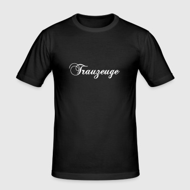 Trauzeuge 2 - Männer Slim Fit T-Shirt