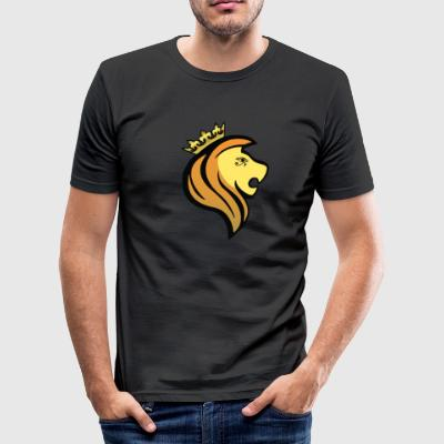 Lion av RA - Slim Fit T-shirt herr