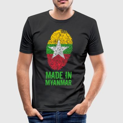 Made In Myanmar / Burma / Burma - Men's Slim Fit T-Shirt