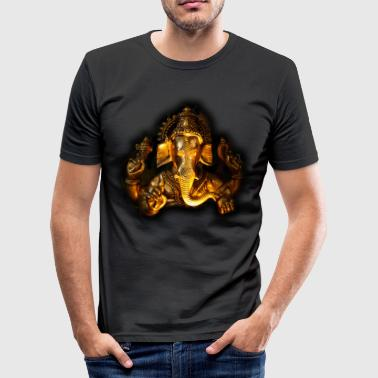GANESHA Portrait - Männer Slim Fit T-Shirt