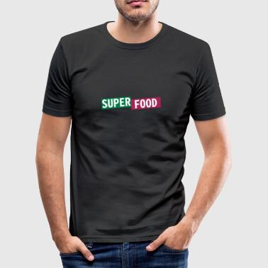 Superfood - Tee shirt près du corps Homme