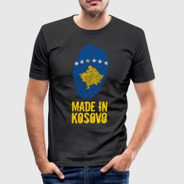 Made in Kosovo / Made in Kosovo Kosova Kosovë - Maglietta aderente da uomo