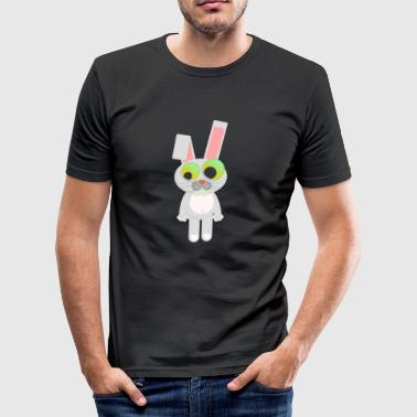hare - Slim Fit T-skjorte for menn