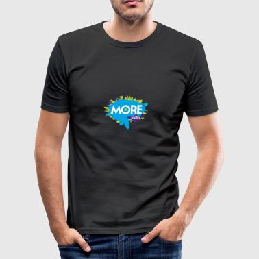 More Radio 2017 - slim fit T-shirt