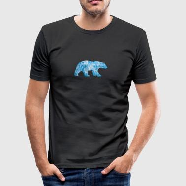 Polar Bear - Men's Slim Fit T-Shirt