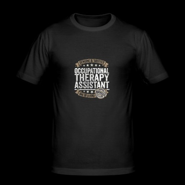 Occupational Therapy Assistant Premium Quality - Men's Slim Fit T-Shirt