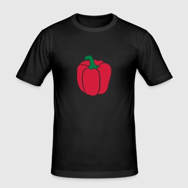 Paprika - Männer Slim Fit T-Shirt