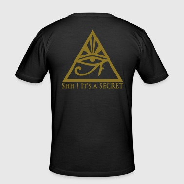 All seeing eye - T-shirt près du corps Homme