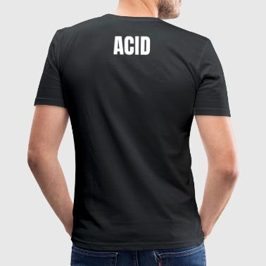 Set of the Day ACID - Männer Slim Fit T-Shirt