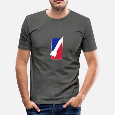 Esa rocket league_vec_3 en - Men's Slim Fit T-Shirt
