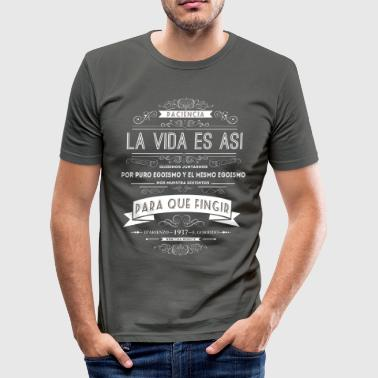 Paciencia - Men's Slim Fit T-Shirt