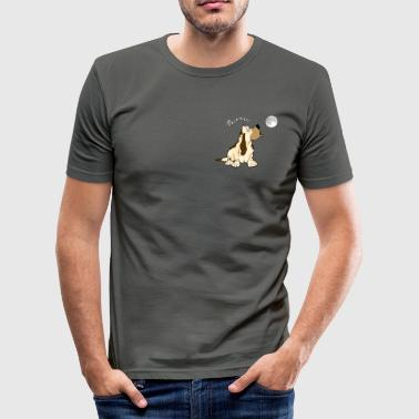 Vollmond - Männer Slim Fit T-Shirt