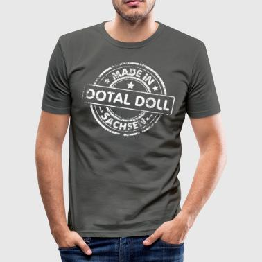 Made in Sachsen - dotal Doll - Herre Slim Fit T-Shirt