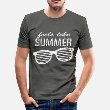 Bank Holiday holiday - Men's Slim Fit T-Shirt