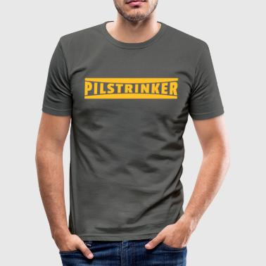 Pils drinkers - Men's Slim Fit T-Shirt